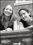 Literary agency writers - Jennifer Boyd and Laura Conant
